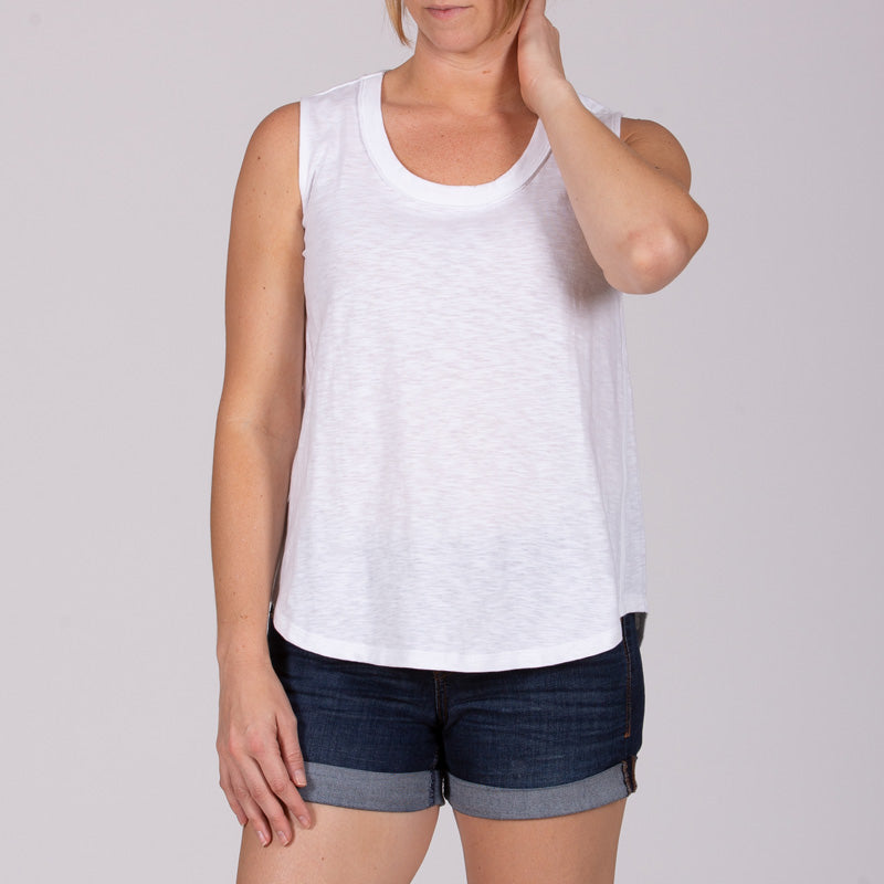 Women's Customizable Medium Weight Scoop Neck Tank Top