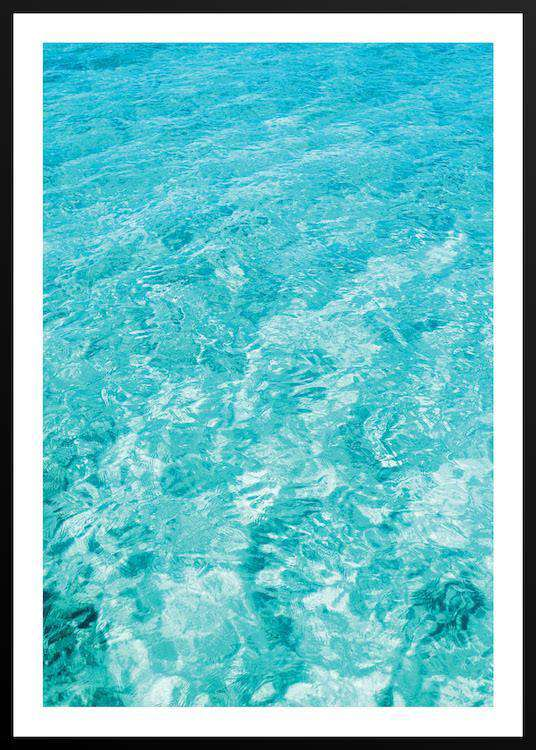 LIGHT BLUE WATER with Frame | Photographs | Funqle.com