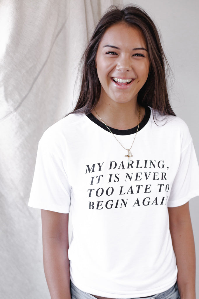 My Darling Slogan Tee