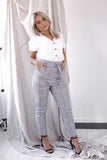 Whitney Check Trousers