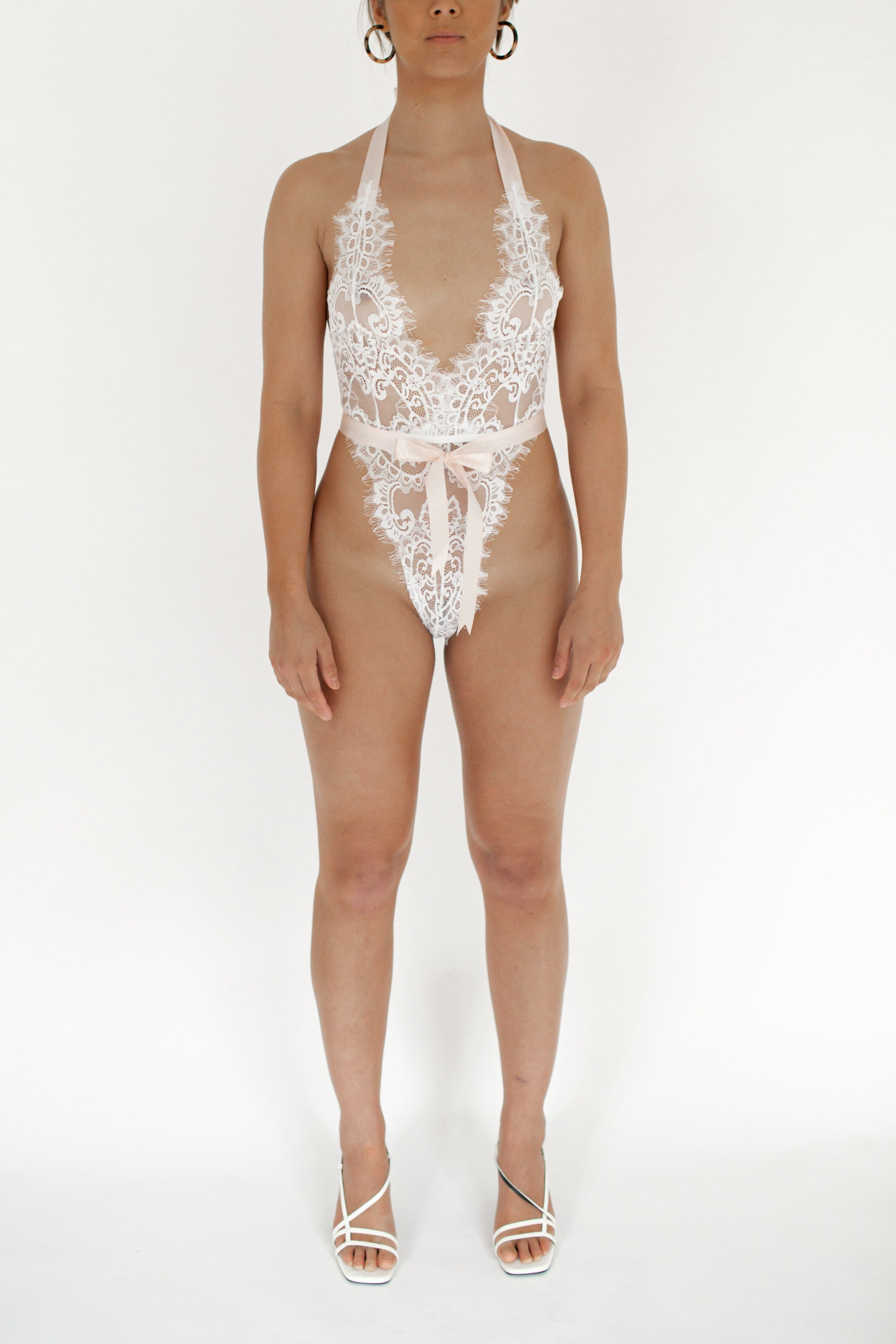 Hallie Bodysuit White