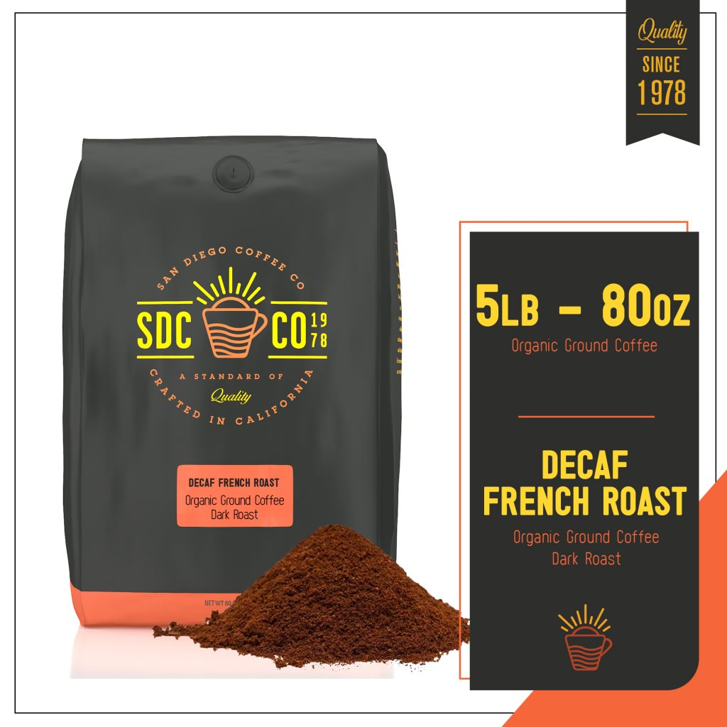 SDC Organic Decaf French Roast