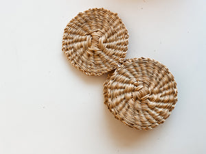 Natural Grass Coasters