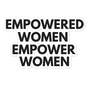 empowered! sticker!