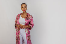 Load image into Gallery viewer, Qhawekazi Tracey Satin Kimono
