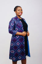 Load image into Gallery viewer, Qhawekazi Bluey Purple Blazer - QhawekaziStyles
