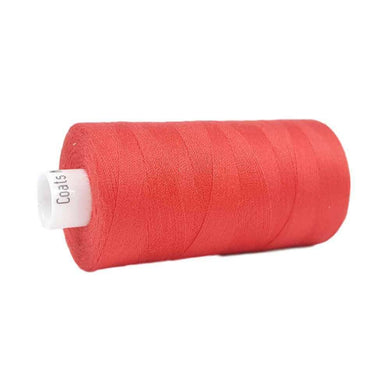 012 Red - Coats Moon 1000yd Polyester Thread | Ab Fab Textiles