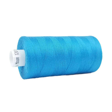 029 Turquoise - Coats Moon 1000yd Polyester Thread | Ab Fab Textiles