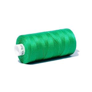 038 Emerald Green - Coats Moon 1000yd Polyester Thread | Ab Fab Textiles
