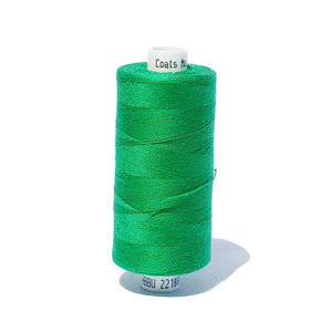 038 Emerald Green - Coats Moon 1000m Polyester Thread | Ab Fab Textiles