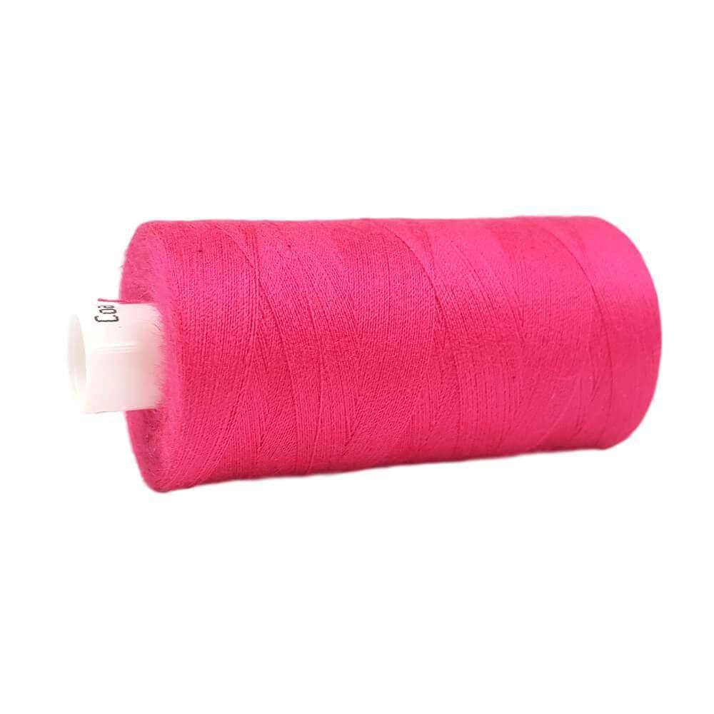 057 Bright Pink - Coats Moon 1000yd Polyester Thread | Ab Fab Textiles