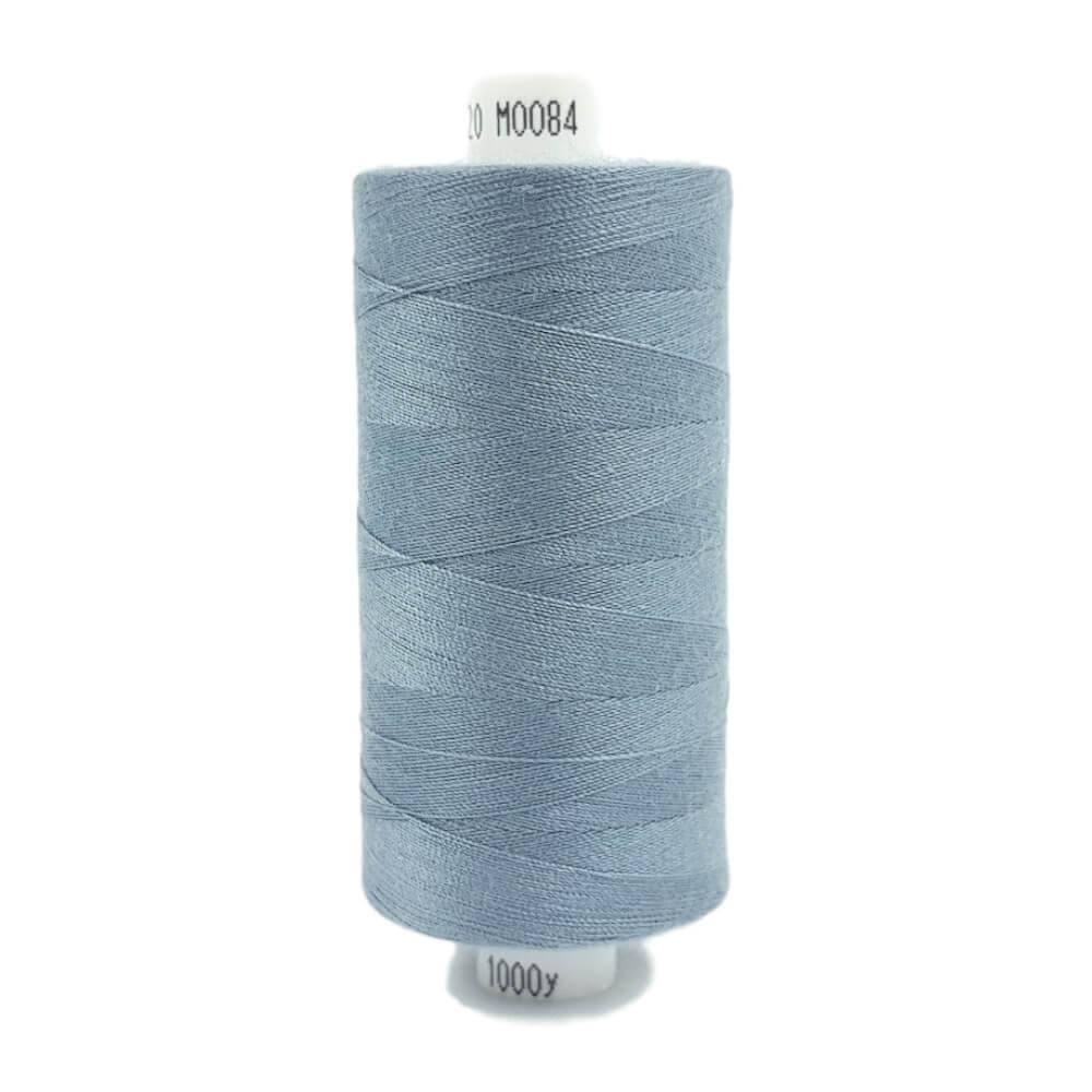 084 Storm Grey - Coats Moon 1000yd Polyester Thread | Ab Fab Textiles