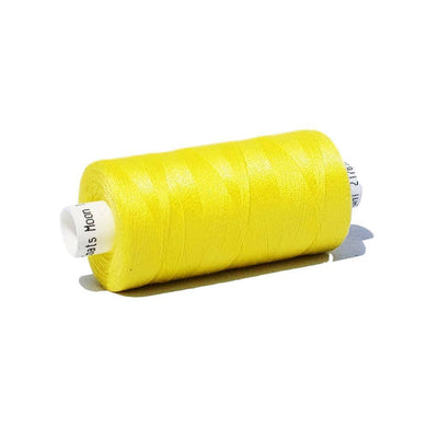 201 Yellow - Coats Moon 1000yd Polyester Thread | Ab Fab Textiles