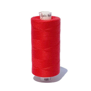 215 Bright Red - Coats Moon 1000m Polyester Thread | Ab Fab Textiles