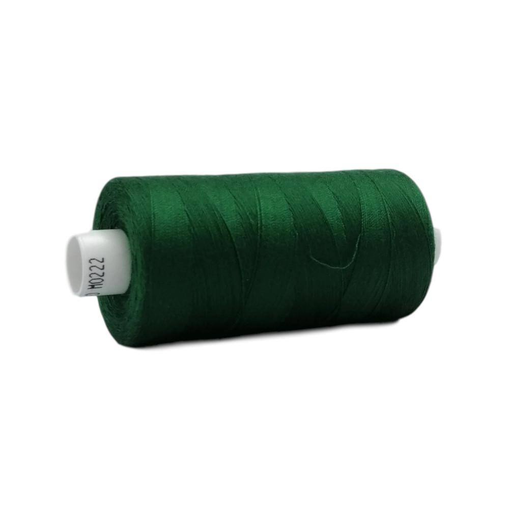 222 Forest Green - Coats Moon 1000yd Polyester Thread | Ab Fab Textiles