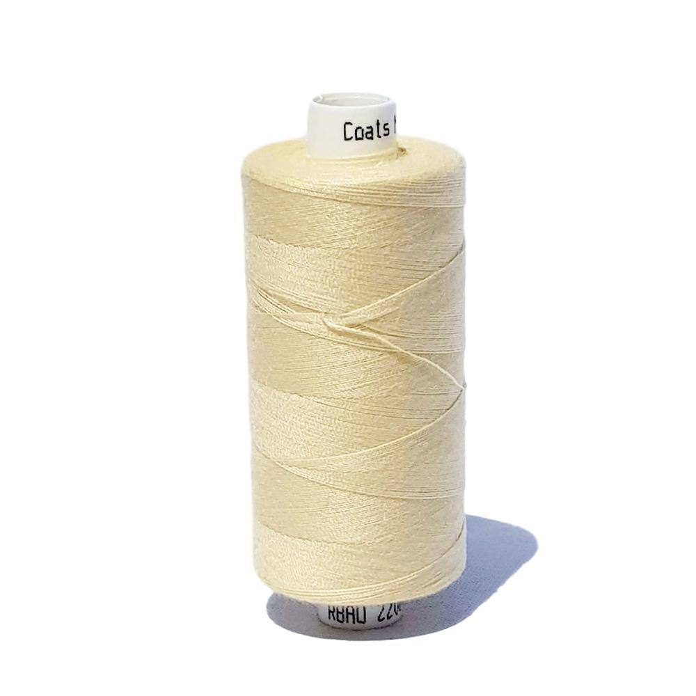 240 Clotted Cream - Coats Moon 1000yd Polyester Thread | Ab Fab Textiles