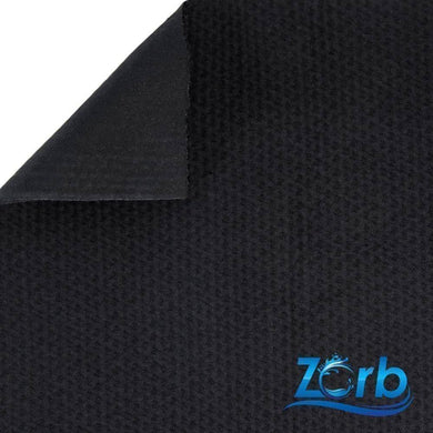 Zorb® 4D Organic Cotton Dimple Waterproof PUL Soaker Fabric (Black) Fat Quarters | Ab Fab Textiles