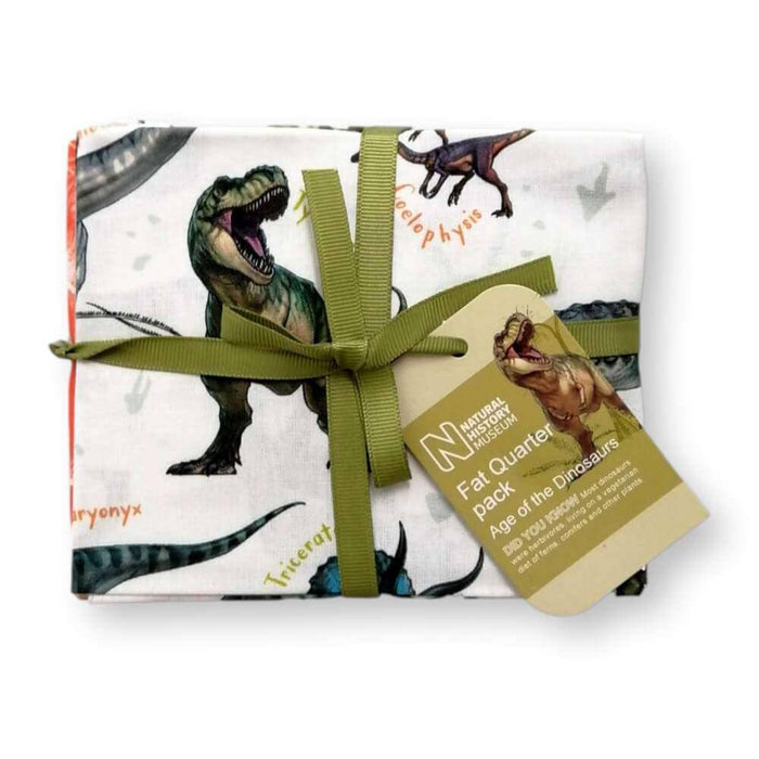 Age of the Dinosaurs Fat Quarter Bundle of 5