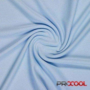 Baby Blue ProCool® Athletic Jersey Mesh Fabric | Ab Fab Textiles