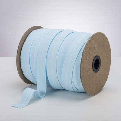 "Baby Blue 1"" ProStretch™ Plush Fold Over Elastic (FOE) 