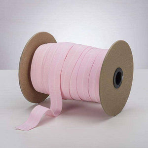 "Baby Pink 1"" ProStretch™ Plush Fold Over Elastic (FOE) 