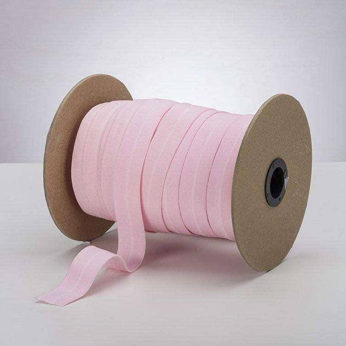 "Baby Pink 1"" ProStretch™ Plush Fold Over Elastic (FOE)"