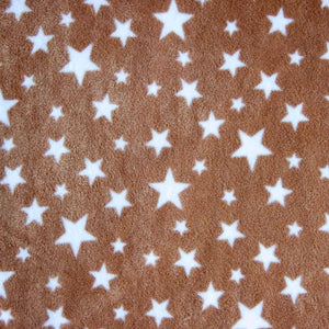 Biscuit Stars Anti Pilling Polar Fleece | Ab Fab Textiles