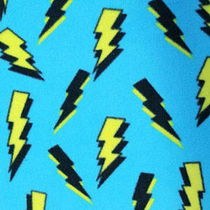Blue Lightning Anti Pilling Polar Fleece | Ab Fab Textiles