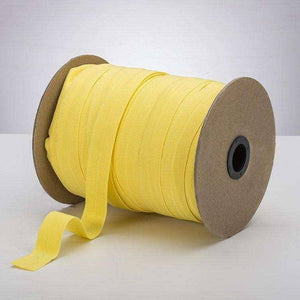 "Citron Yellow 1"" Fold Over Elastic (FOE)"