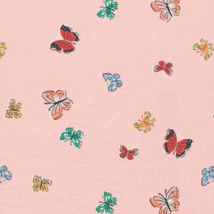 Blakeney Butterflies 100% Organic Cotton - Cloud9 Fabrics | Ab Fab Textiles