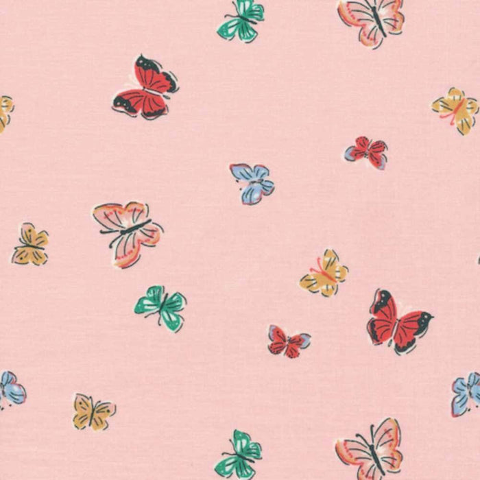 Blakeney Butterflies 100% Organic Cotton - Cloud9 Fabrics