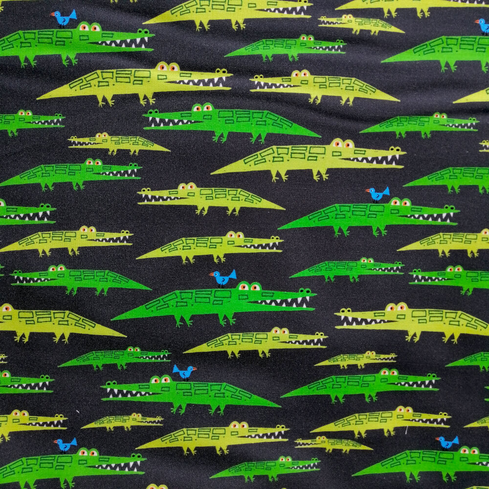 Alligators by Ed Emberley - 100% Organic Cotton
