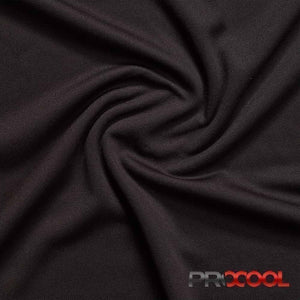 Black ProCool® Dri-QWick™ Sports Mesh Fabric with COOLMAX® | Ab Fab Textiles