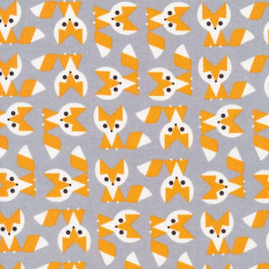 Fox by Ed Emberley - 100% Organic Cotton - Cloud9 Fabrics - Ab Fab Textiles