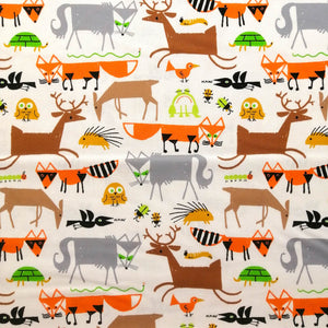 Forest Friends by Ed Emberley - 100% Organic Cotton