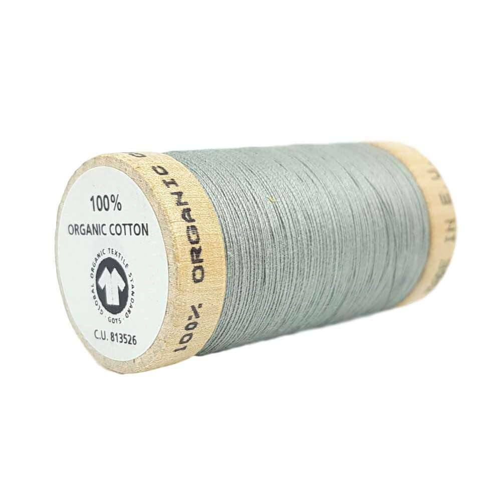 Grey (4832) - 100% Organic Cotton Thread - 100m | Ab Fab Textiles