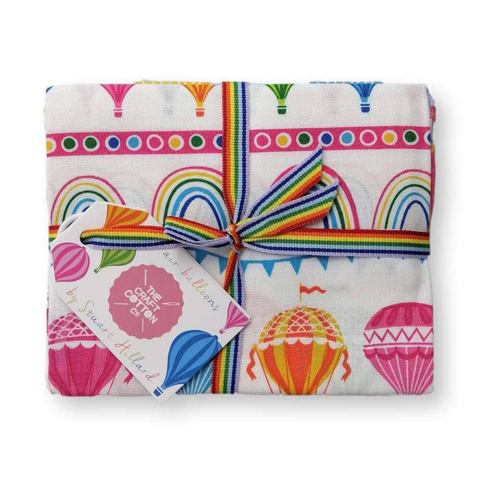 Hot Air Balloons Fat Quarter Bundle of 5