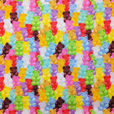 Jelly Babies Cotton Print - Wide | Ab Fab Textiles