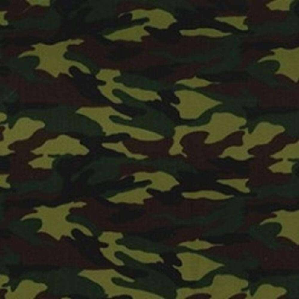Jungle Camouflage Cotton Print | Ab Fab Textiles