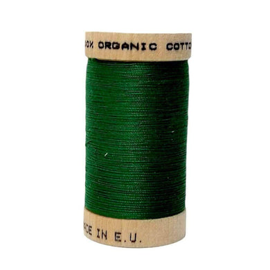 Kelly Green (4821) - 100% Organic Cotton Thread - 100m | Ab Fab Textiles