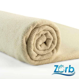 "Natural Zorb® Microfiber Terry Fabric ""Fat Quarter"" - [variant_title] - Ab Fab Textiles"