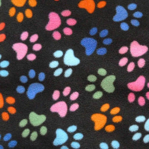 Multicoloured Paws Anti Pilling Polar Fleece - Ab Fab Textiles