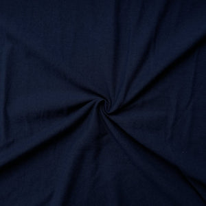 Navy 100% Cotton Jersey