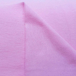 Pink 100% Cotton Jersey - [variant_title] - Ab Fab Textiles