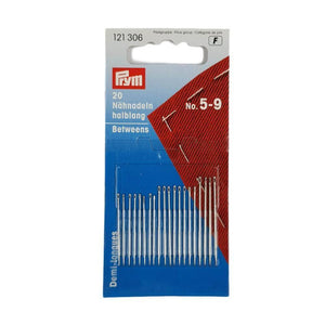 Prym Hand Sewing Needles Between 5-9 Assorted | Ab Fab Textiles