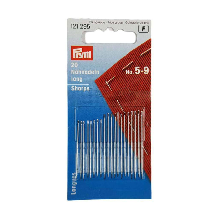 Prym Hand Sewing Needles Sharps 5-9 Assorted