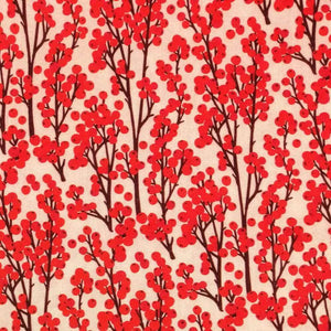 Redcurrant Berries Cotton Print - Little Johnny - Extra Wide | Ab Fab Textiles