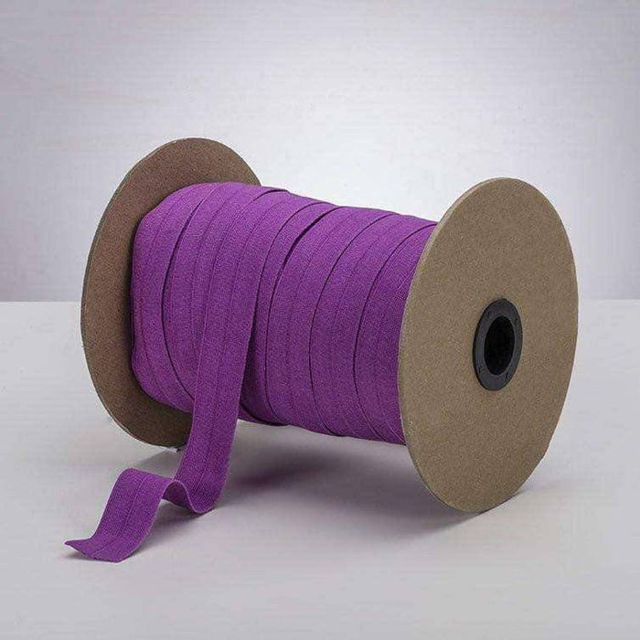 "Rich Orchid 1"" ProStretch™ Plush Fold Over Elastic (FOE)"