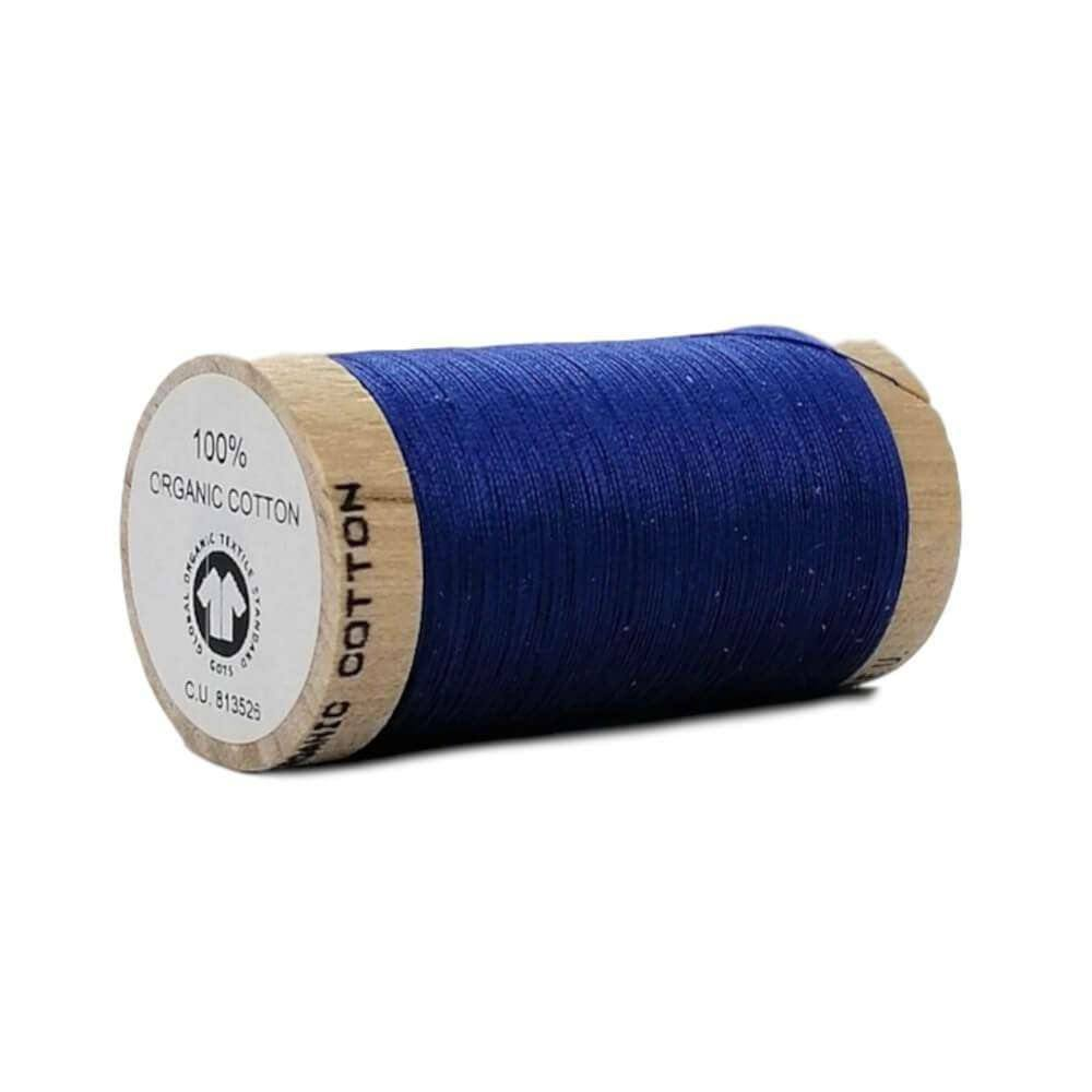 Royal Blue (4817) - 100% Organic Cotton Thread - 100m | Ab Fab Textiles