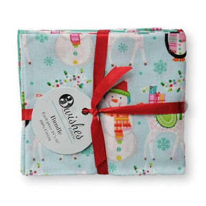 Santa and Friends Fat Quarter Bundle of 5 | Ab Fab Textiles